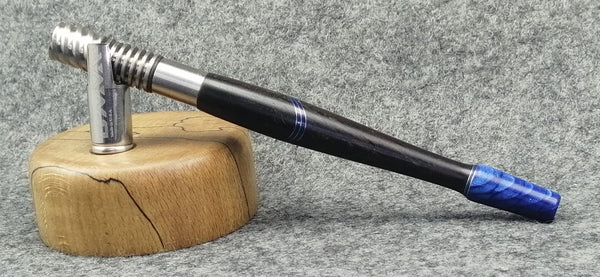 Custom Dynavap Stem - Classic in Blackwood and Juma® Blue Snake by PhattPiggie