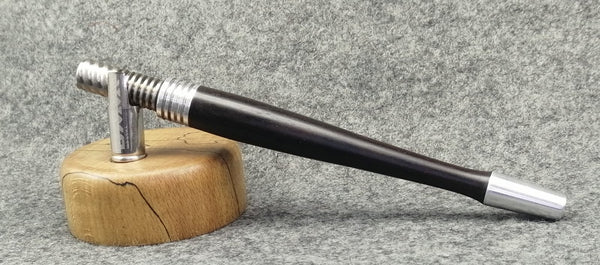 Custom Dynavap Stem - Classic in Blackwood w/ aluminum accents by PhattPiggie