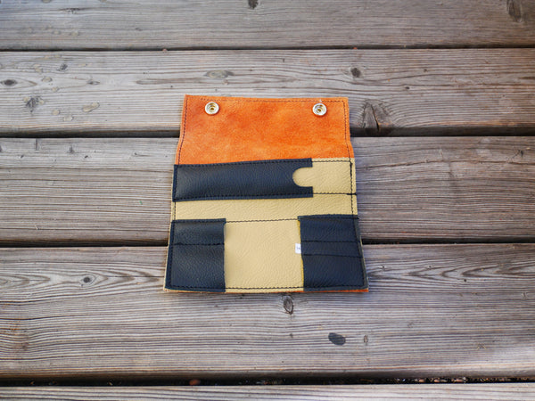 Handcrafted Leather Sleeves for the Grasshopper Vaporizer (Orange)
