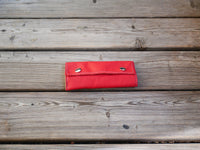 Handcrafted Leather Sleeves for the Grasshopper Vaporizer (Red)