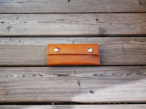 Handcrafted Leather Sleeves for the Grasshopper Vaporizer (Brown)