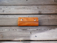 Handcrafted Leather Sleeves for the Grasshopper Vaporizer (Beige/Tan)