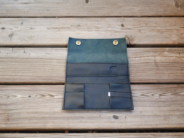 Handcrafted Leather Sleeves for the Grasshopper Vaporizer (Black)
