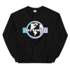 'Safe Travels' Black Crewneck Sweatshirt
