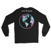 'Safe Travels' Logo Black Long Sleeve Shirt