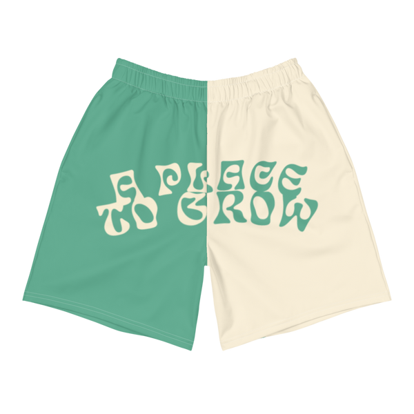 """A Place to Grow"" Half and Half Shorts"