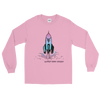 "Rocket Ship ""Support Trans Futures"" Long Sleeve Shirt"