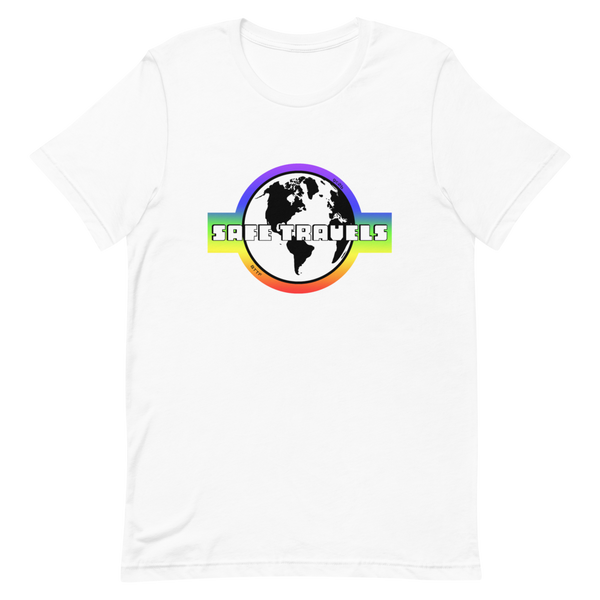 'Safe Travels' Rainbow Logo I
