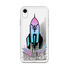 Rocket Ship Liquid Glitter Phone Case