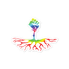 Rebel Roots Rainbow Sticker