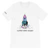 "Rocket Ship "" Support Trans Futures"" T - Shirt"