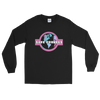 Pink 'Safe Travels' Logo Black Long Sleeve Shirt