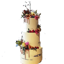 Load image into Gallery viewer, Semi Naked Wedding Cakes