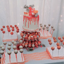 Load image into Gallery viewer, Tower of Treats Wedding Cake