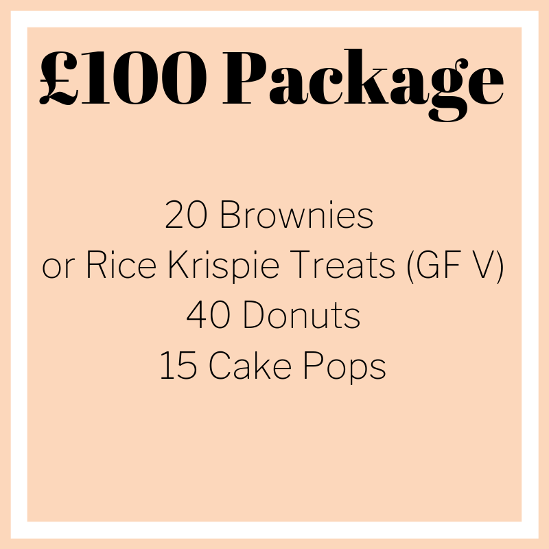 Sweet Treats Wedding Packages