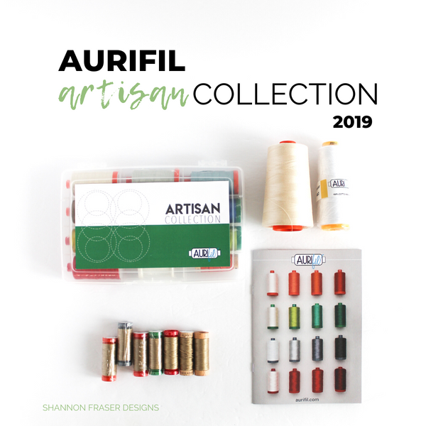 Aurifil Artisan Collection 2019