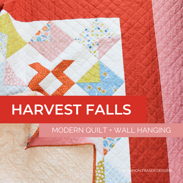 Harvest Falls Quilt & Wall Hanging | Featured in Love Patchwork and Quilting Magazine Issue 76