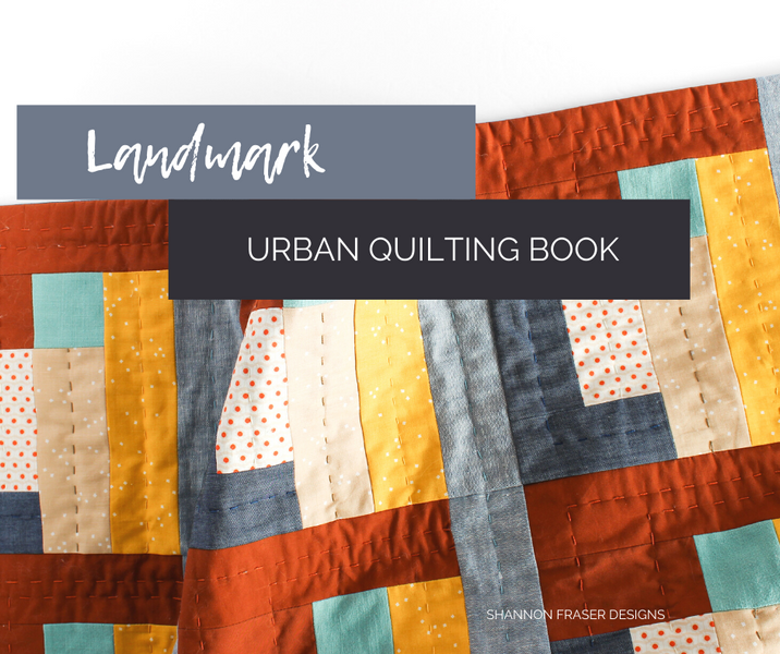 Landmark Quilted Wall Hanging | Urban Quilting Book
