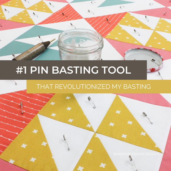 #1 Pin Basting Tool Every Quilter Needs to Know About