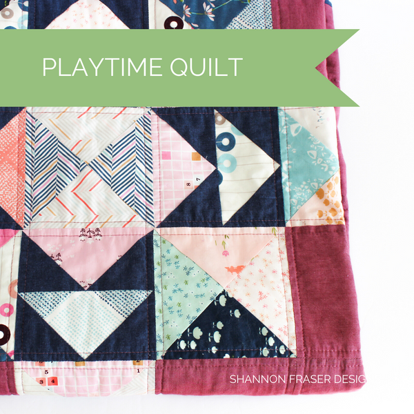 Playtime Quilt - Amy Sinibaldi's Playground Showcase