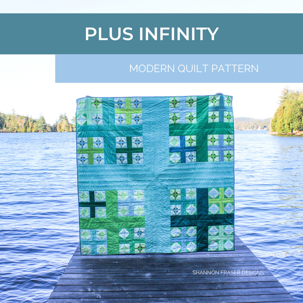 Plus Infinity Quilt Pattern | RJR Fabrics What Shade Are You?