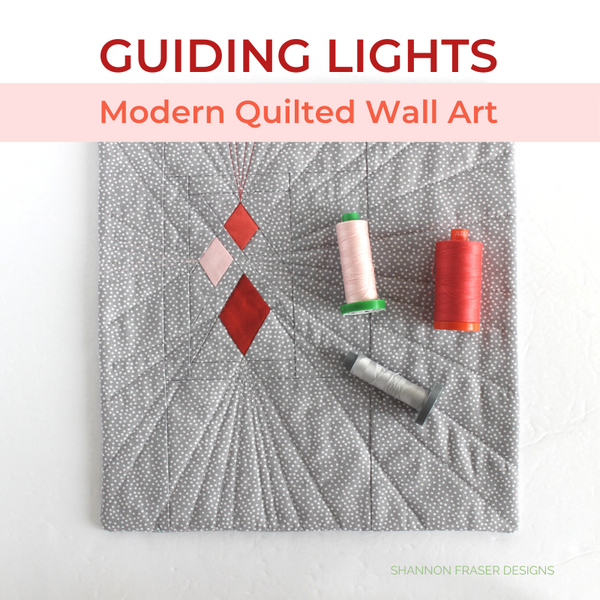 Guiding Lights Quilted Mini Wall Hanging