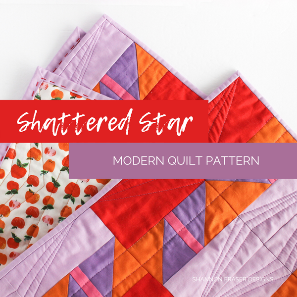 Shattered Star Quilt Pattern
