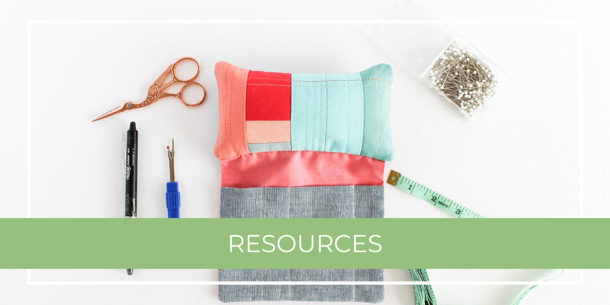 Quilting Resources Tools & Notions | Shannon Fraser Designs