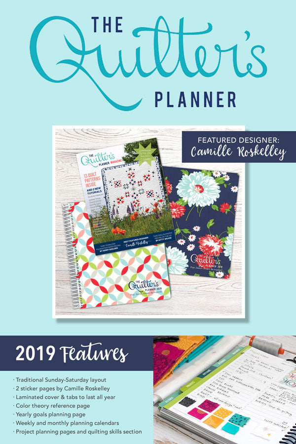 The 2019 Quilter's Planner Graphic