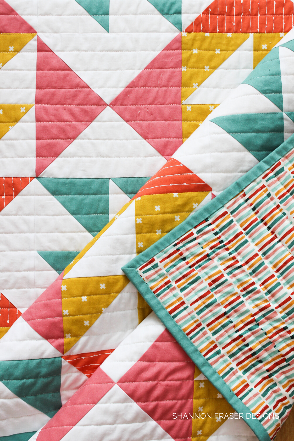 Pink Lemonade Quilt | Best Tips for New Quilters | What I wish I knew when I started quilting | Shannon Fraser Designs #modernquiltpattern