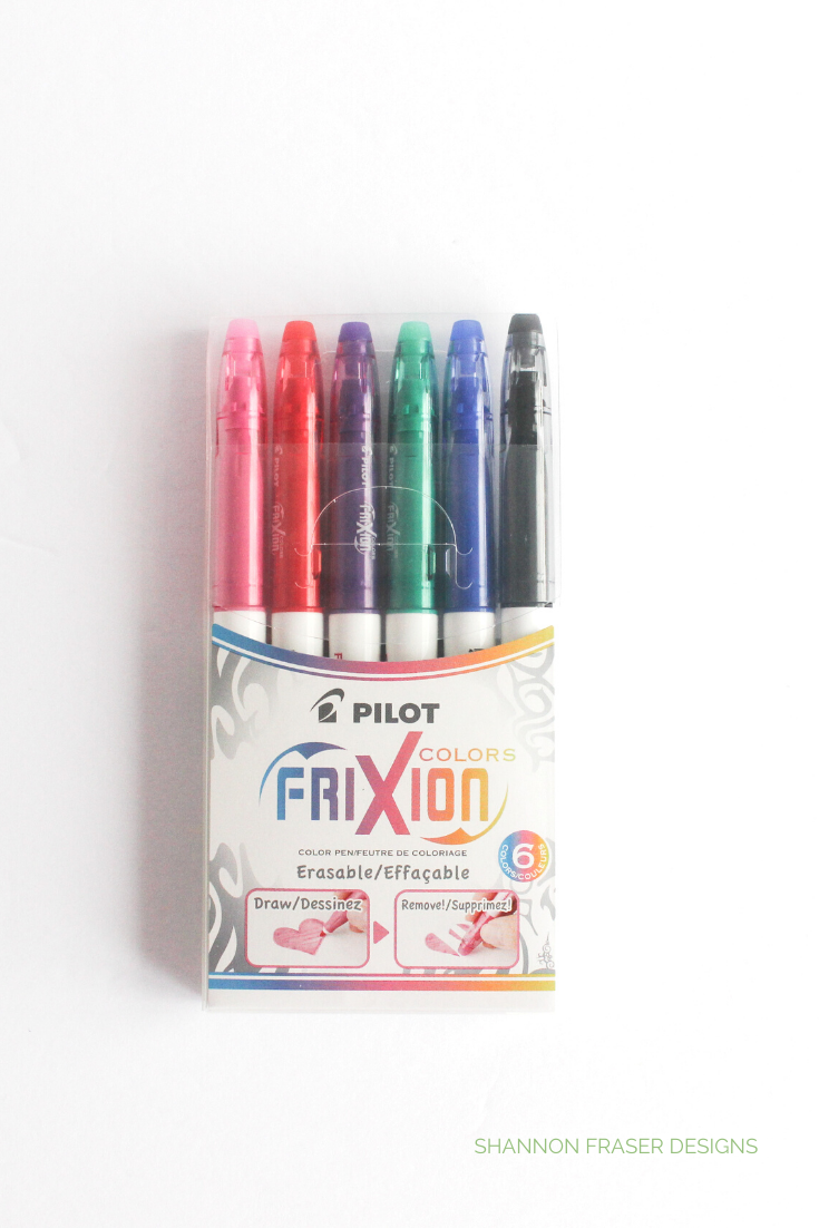 Pilot Frixion markers color pack