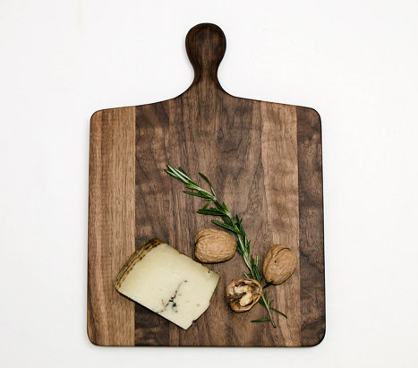 Walnut cutting board from Butternut Brooklyn