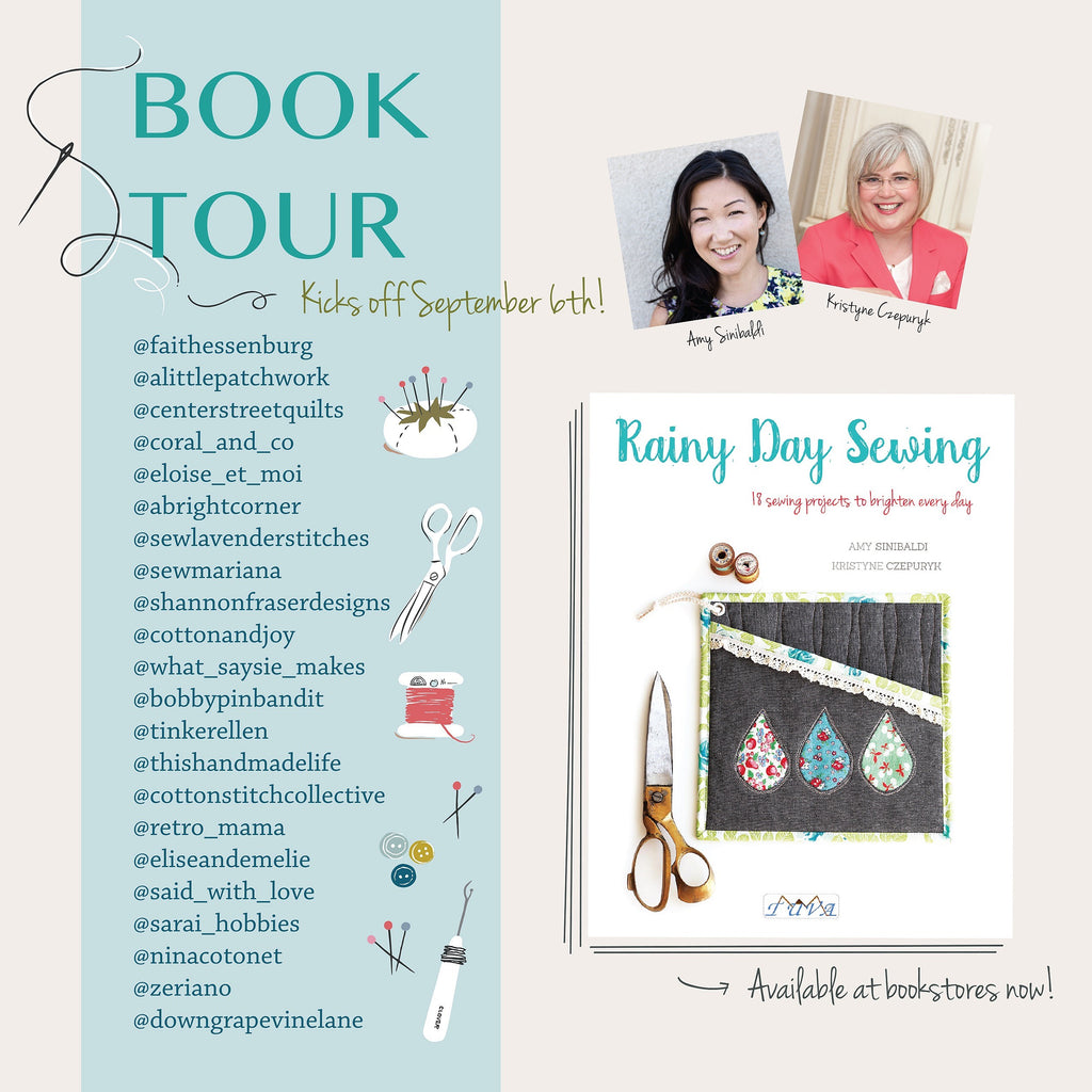 Rainy Day Sewing Book Tour participants