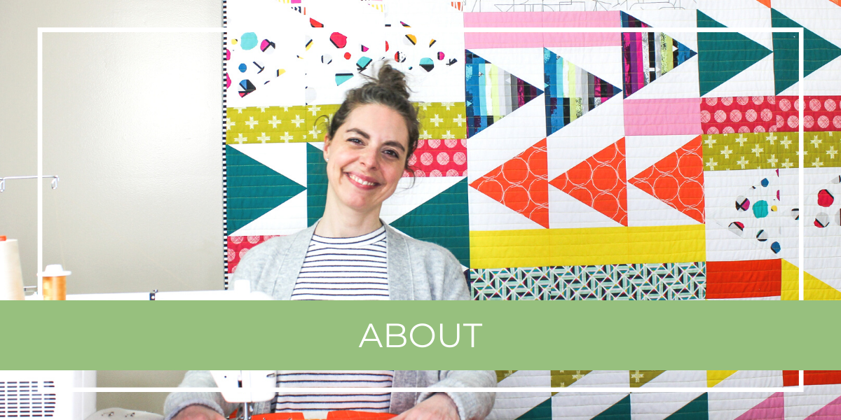 Shannon Fraser in her quilting studio