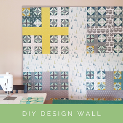 DIY Quilting Design Wall | Shannon Fraser Designs