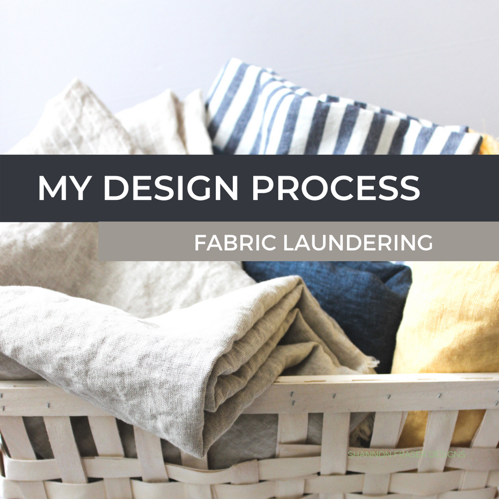 Shannon Fraser Designs Fabric Launering