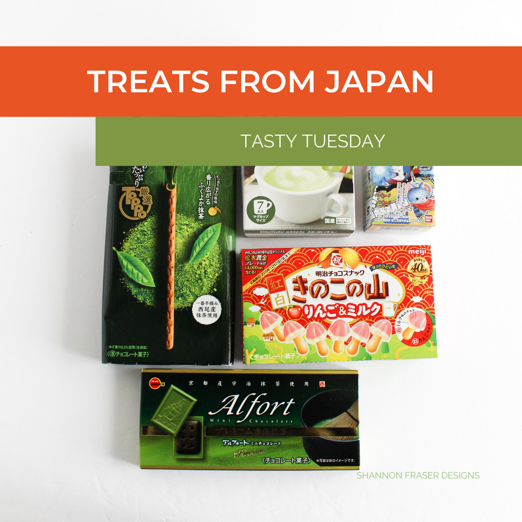 Boxes of chocolates from Japan