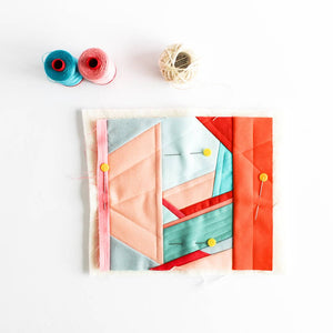 One of a Kind Modern Mini Art Quilt - Shannon Fraser Designs