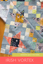 Load image into Gallery viewer, Forest Fable Irish Vortex Quilt (PDF) | Fat Quarter friendly quilt pattern | Shannon Fraser Designs