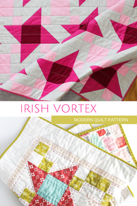 Irish Vortex Quilt Pattern (PDF) - Shannon Fraser Designs