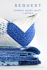 Double Chevron Pillow Pattern (PDF)