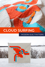 Load image into Gallery viewer, Cloud Surfing Quilt Pattern (PDF)