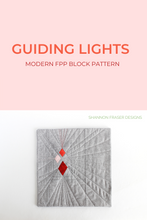 Load image into Gallery viewer, Guiding Lights Block Pattern (PDF)