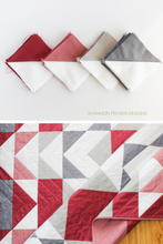 Load image into Gallery viewer, Modern Aztec Quilt Pattern (PDF)