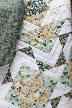 Load image into Gallery viewer, Neufchâtel Modern Aztec Crib Quilt