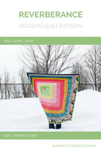 Load image into Gallery viewer, Reverberance Quilt Pattern (PDF) - Shannon Fraser Designs