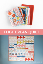 Load image into Gallery viewer, Flight Plan Quilt Pattern (PDF)