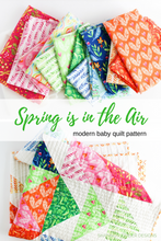 Load image into Gallery viewer, Spring is in the Air Quilt Pattern (PDF) - Shannon Fraser Designs