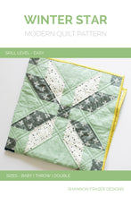 Load image into Gallery viewer, Winter Star Quilt Pattern (PDF) - Shannon Fraser Designs