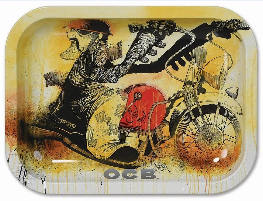 OCB ROLLING TRAY MOTORCYCLE L